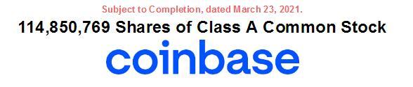 et42023061740421 - 美最大加密货币交易所Coinbase敲定美国上市时间-海外上市
